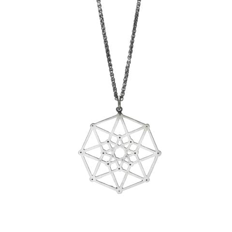 Tesseract Necklace