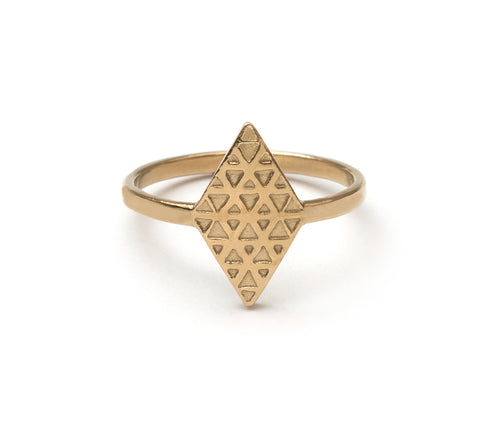 Tri Reflection Ring