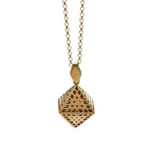 Amplify Octahedron Necklace (small)
