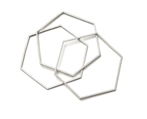 Hexagon Bangles