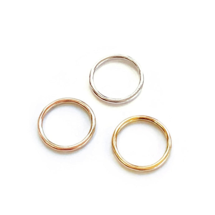 Smooth Round Ring 2mm