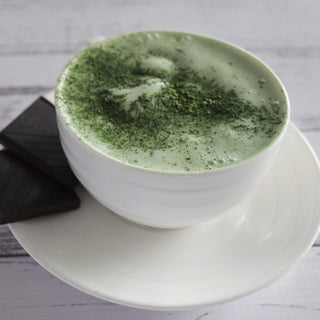 Protein Coconut Matcha Latte