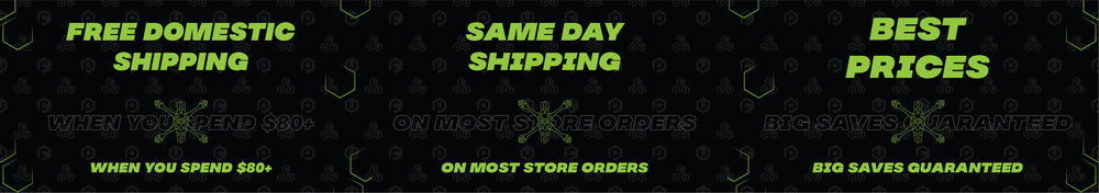 SAME DAY FREE DOMESTIC SHIPPING ON ORDERS OVER $80