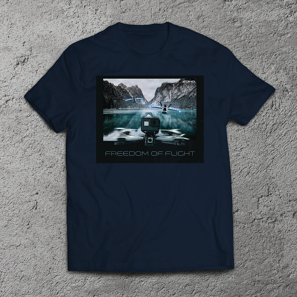 FPVCrate Feedom Of Flight T-Shirt