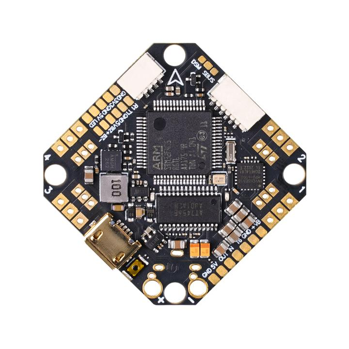 Toothpick F405 2-4S AIO Brushless Flight Controller 20A (BLHELI_32) V4