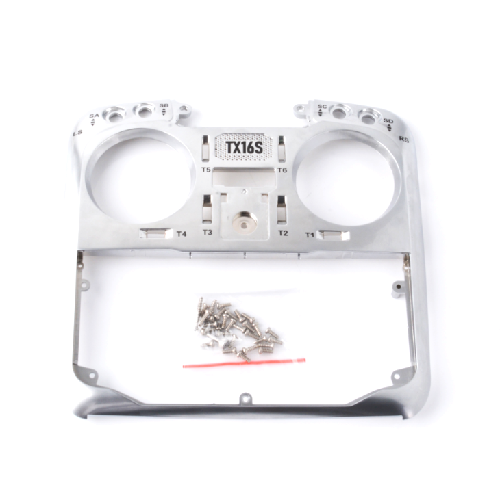 Radiomaster TX6S Replacement Front Case  (Silver)