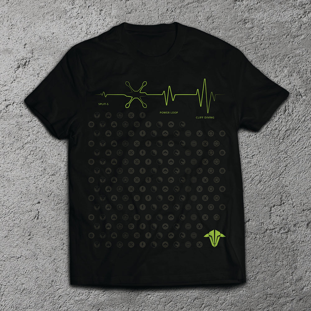 FPVCrate + TBS / Heart Beat T-Shirt
