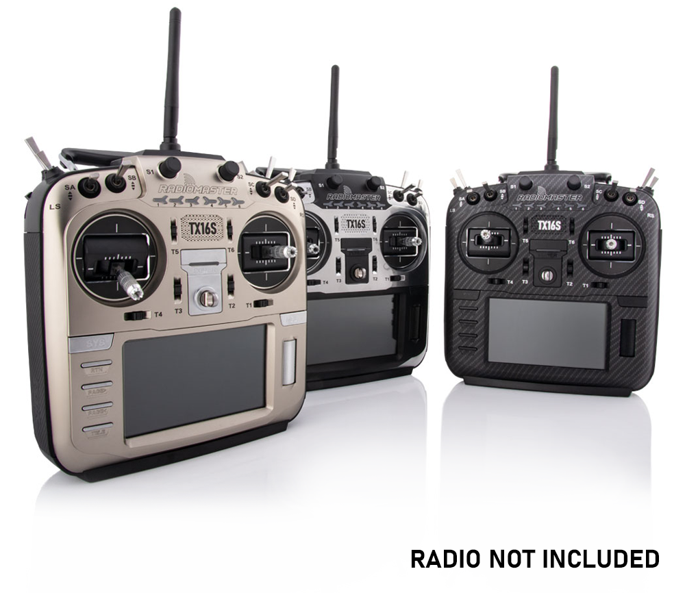 Radiomaster TX16S Replacement Front Case  (Gold)