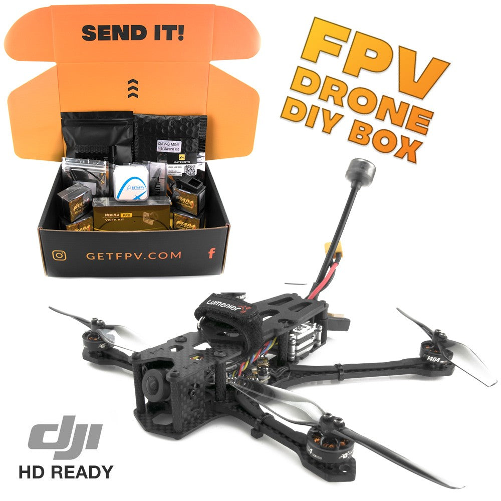 "Lumenier QAV-S Mini 4"" Freestyle Quadcopter DIY Kit (HD)"
