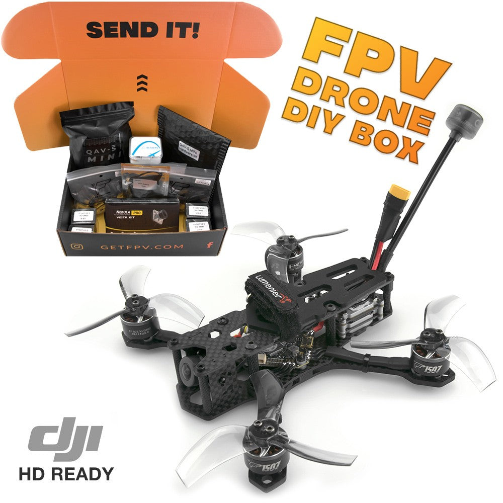 "Lumenier QAV-S MINI 3"" Freestyle Quadcopter DIY Kit - 4S (HD)"