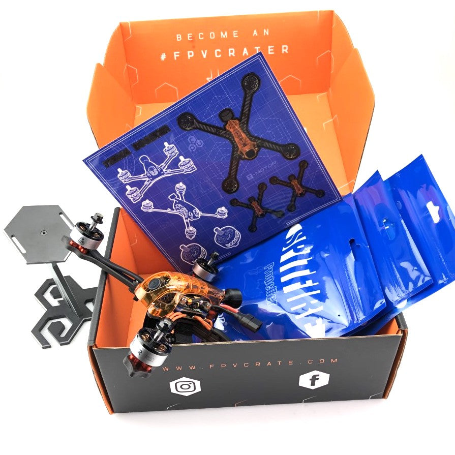 "Yema 5"" Racing RTF (1750kv/6s, XM+Receiver)(Orange)"