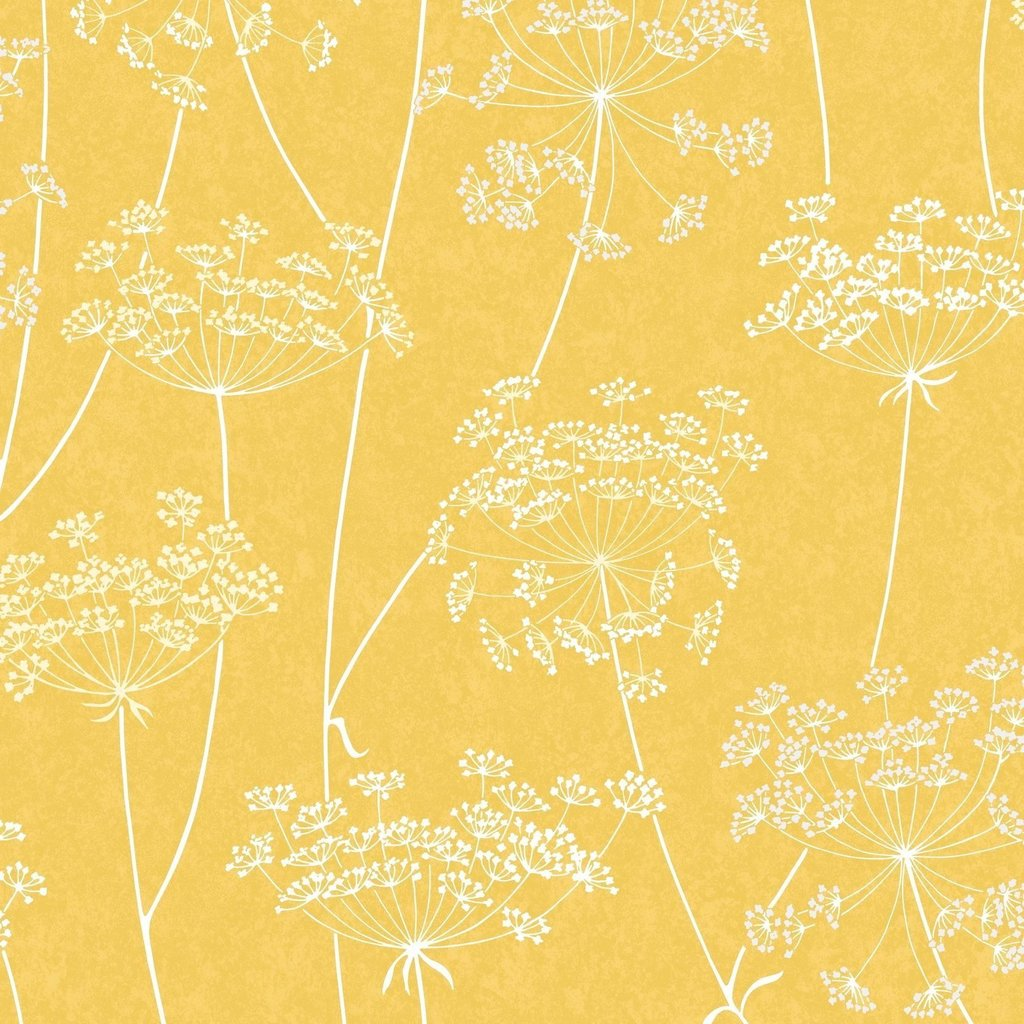 Aura Yellow Wallpaper