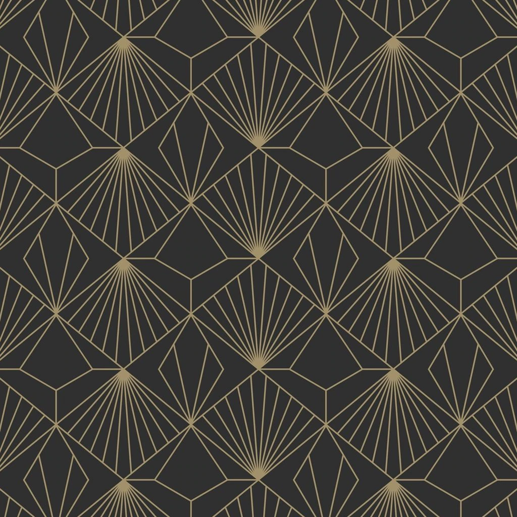 Diamond Black Wallpaper