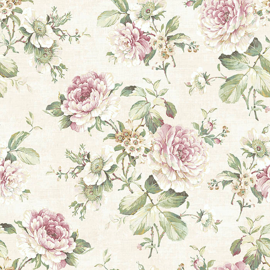 Victoria Cream Wallpaper