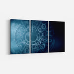 Zodiac_3 Piece Split Canvas