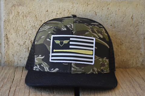 America's Pastime Flag Snapback - Baseball Armory Clothing Co.
