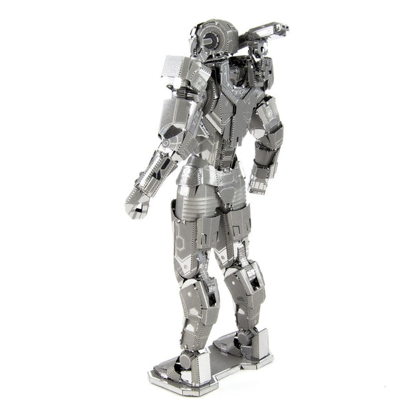 Metal Earth - Avengers - War Machine (Mark 11) rear view.