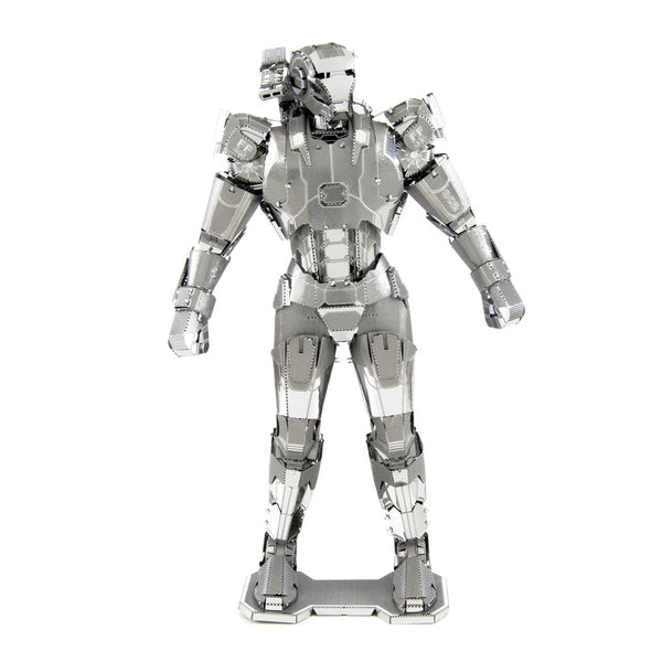 Metal Earth - Avengers - War Machine (Mark 11) front on view.