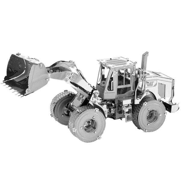 Metal Earth Cat Wheel Loader