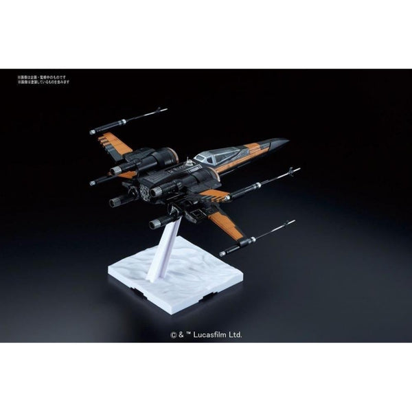 Bandai 1/72 Star Wars Plastic Model Kit Poe's X Wing Fighter