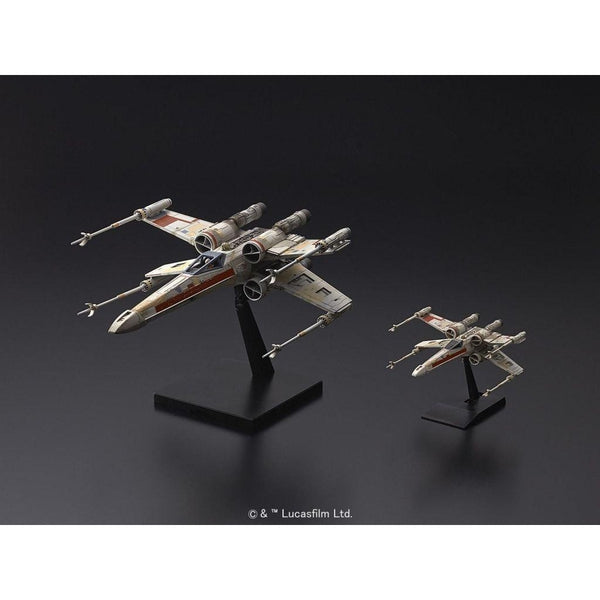 Bandai 1/72 & 1/144 Star Wars Red Squadron X wing Twin Set