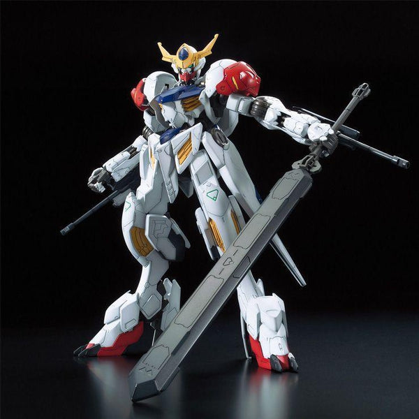 Bandai 1/100 IBO Full Mechanics Gundam Barbatos Lupus Front View