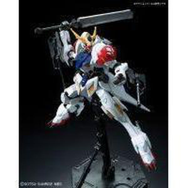 Bandai 1/100 IBO Full Mechanics Gundam Barbatos Lupus Front Pose 1