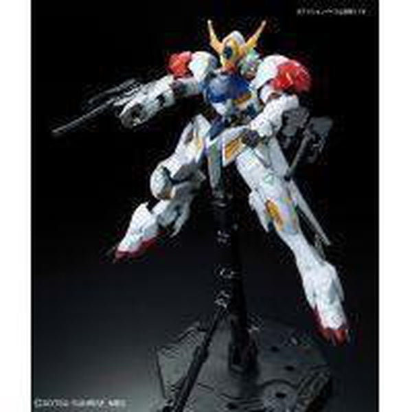 Bandai 1/100 IBO Full Mechanics Gundam Barbatos Lupus Front Pose 2