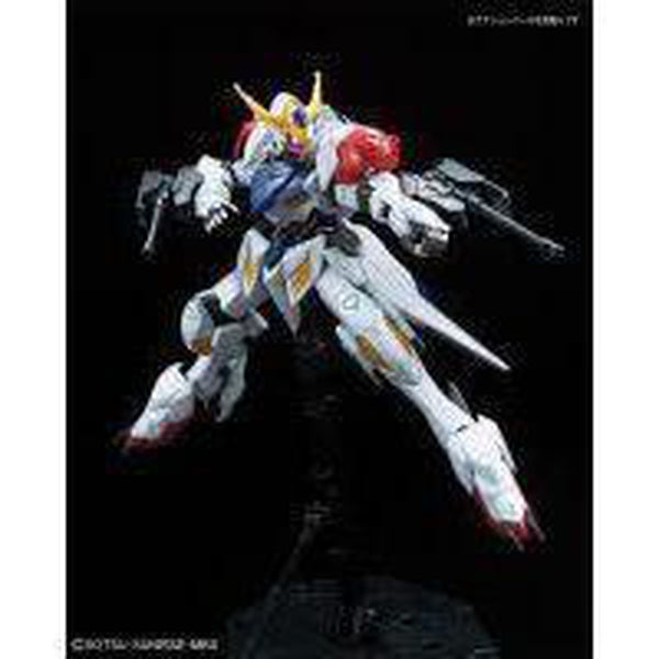 Bandai 1/100 IBO Full Mechanics Gundam Barbatos Lupus Front Pose 3