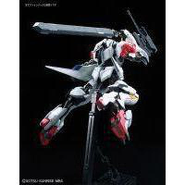 Bandai 1/100 IBO Full Mechanics Gundam Barbatos Lupus Side Pose