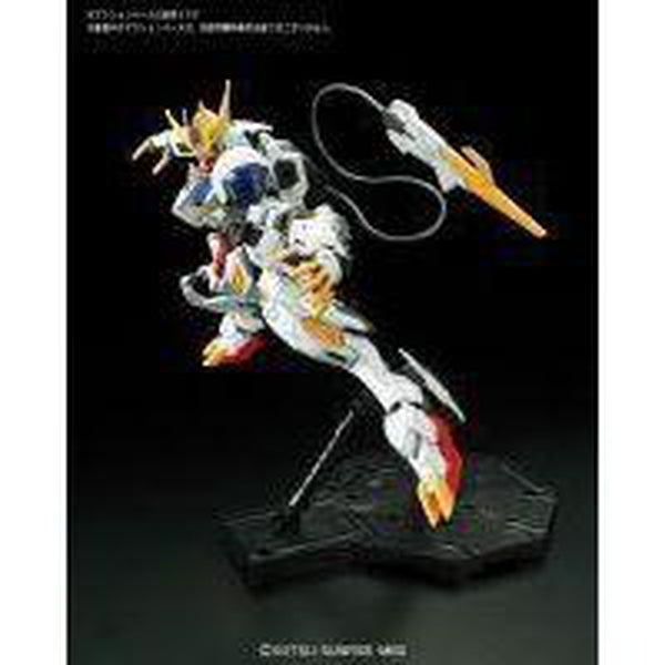 Bandai 1/100 Full Mechanics Barbatos Lupus Rex Side Pose 1