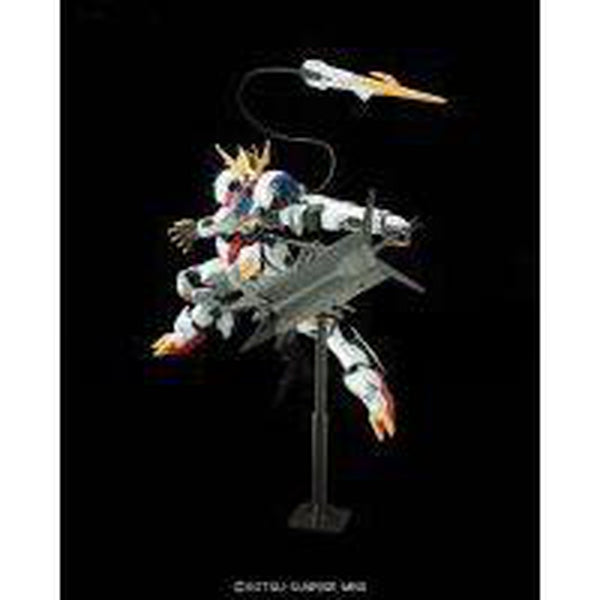 Bandai 1/100 Full Mechanics Barbatos Lupus Rex Side Pose 2