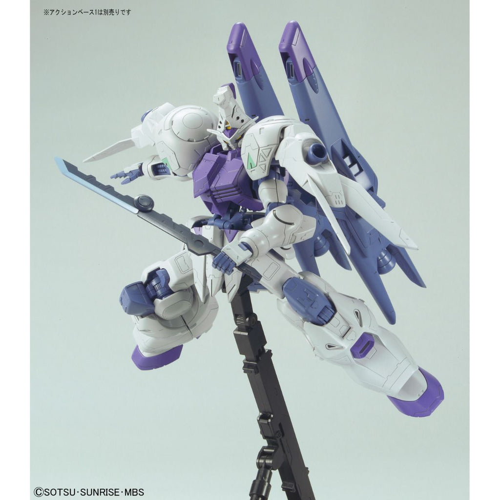 Bandai 1/100 Gundam Kimaris Booster Unit Type Side Pose 1