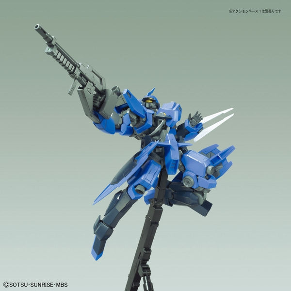 Bandai 1/100 NG Schwalbe Graze McGillis's Custom action pose with rifle