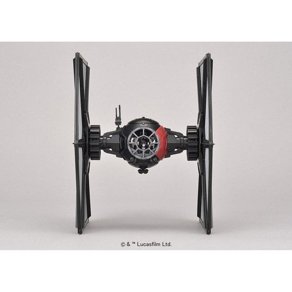 Bandai 1/72 Star Wars Plastic Model Kit First Order Special Forces Tie Fighter front on