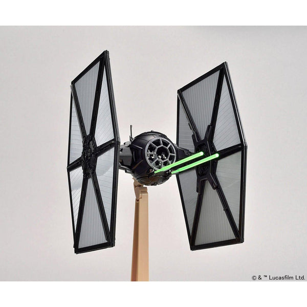 Bandai 1/72 Star Wars The First Order Tie Fighter action pose