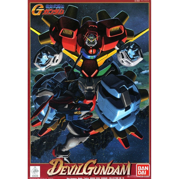 Bandai 1/144 HG Devil Gundam package art