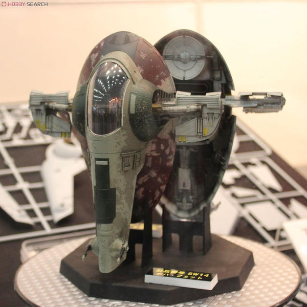 Bandai 1/144 Star Wars Plastic Model Kit Slave 1 Side View 2