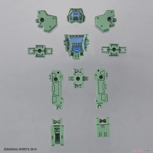 Bandai 1/144 NG 30MM eEXM-21 Option Armour Base Attack for Rabiot (Light Green) what is included