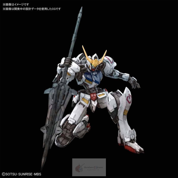 Bandai 1/100 MG Barbatos 4th Form kneeling pose
