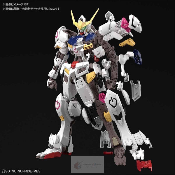 Bandai 1/100 MG Barbatos 4th Form exploded view