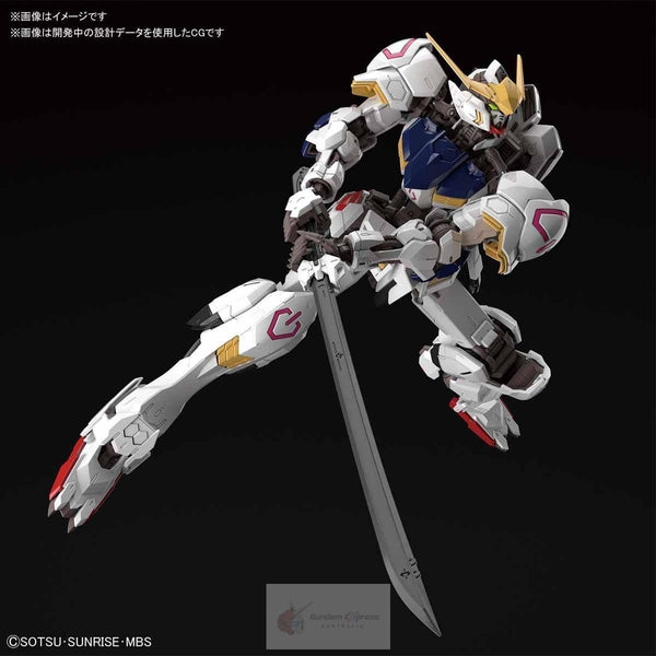 Bandai 1/100 MG Barbatos 4th Form with sword