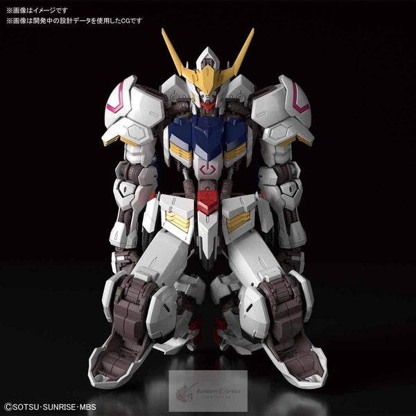 Bandai 1/100 MG Barbatos 4th Form looking down pose