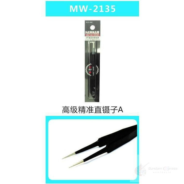 Manwah Precision Straight Tweezers A