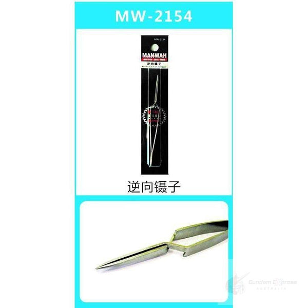 Manwah Reverse Action Tweezer