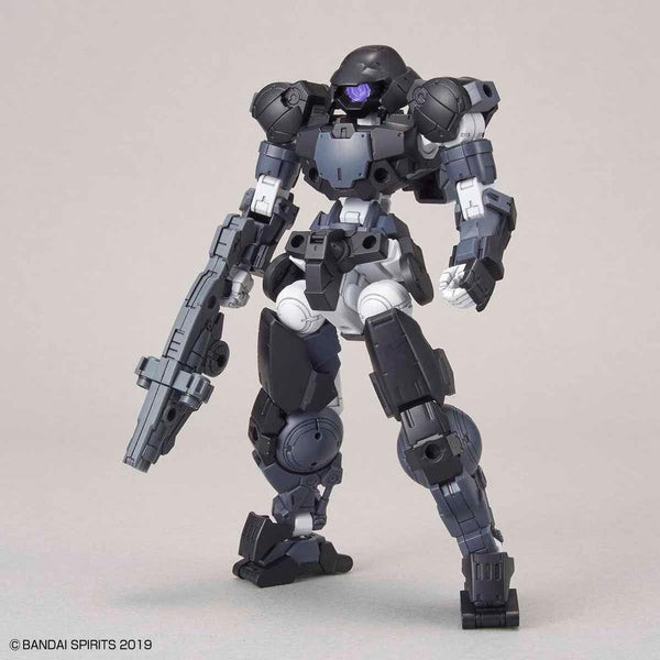 Bandai 1/144 NG 30MM BEXM-15 Portanova (Black)  front on view.