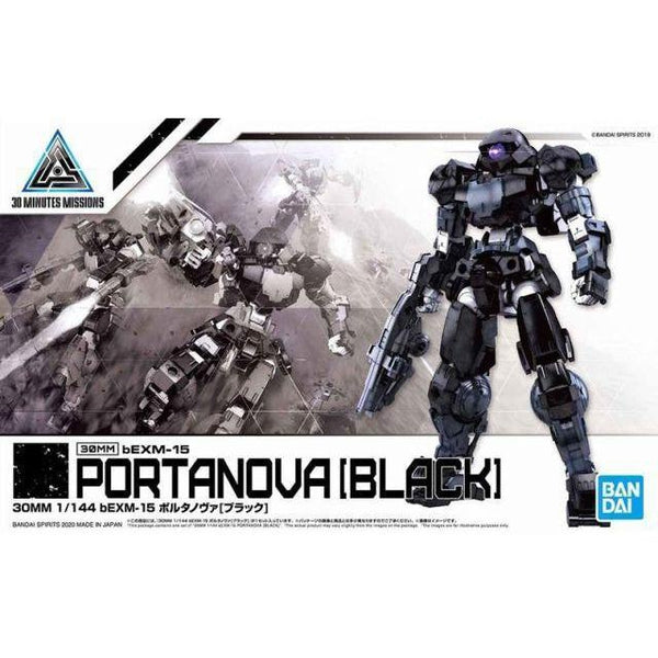 Bandai 1/144 NG 30MM BEXM-15 Portanova (Black) package artwork