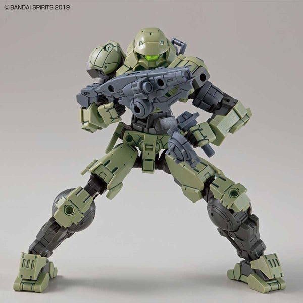 Bandai 1/144 NG 30MM BEXM-15 Portanova (Green) action pose