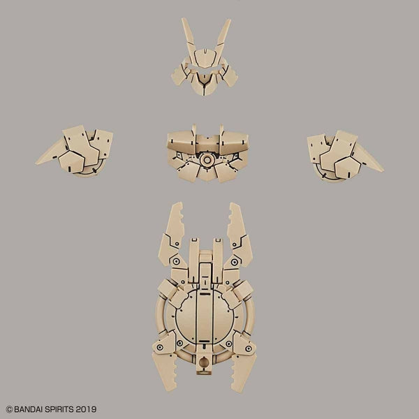Bandai 1/144 NG 30MM Close Quarters Combat Option Armour for Portanova (Sand Yellow) items included