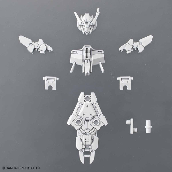 Bandai 1/144 NG 30MM Option Armour for Commander for Alto (White) included parts